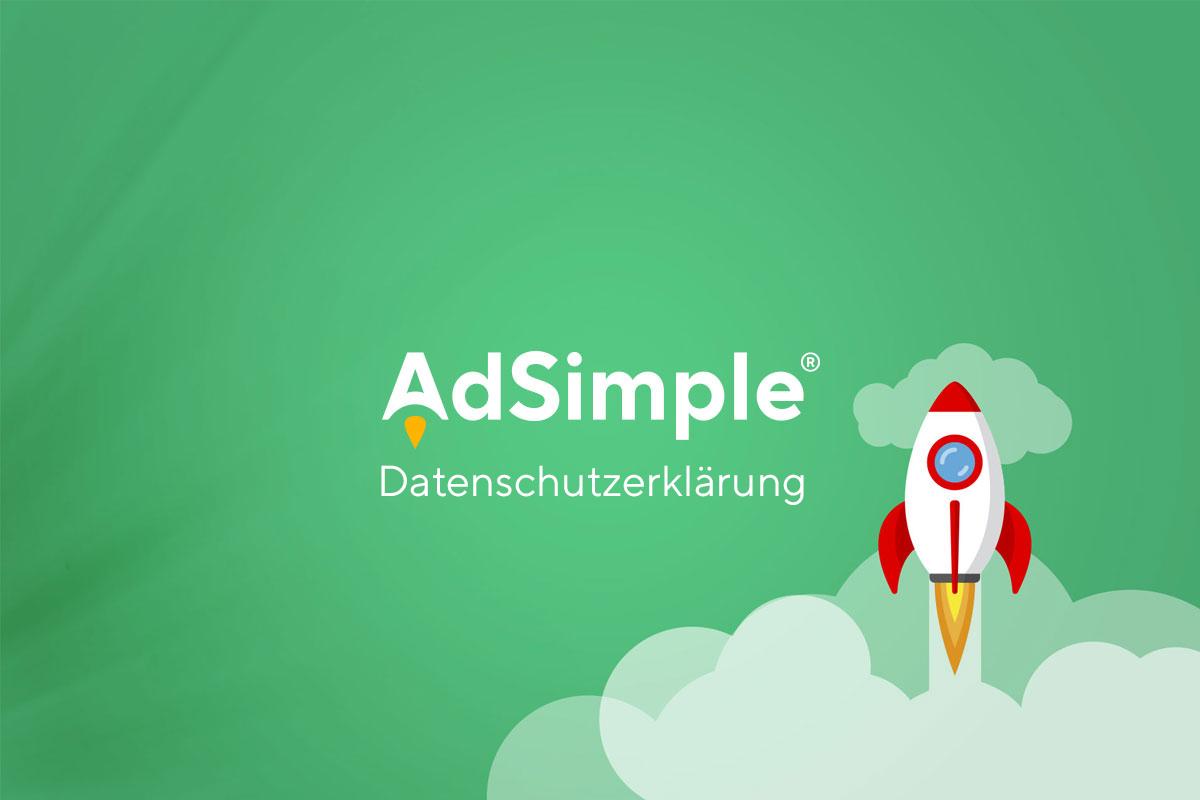 AdSimple Datenschutzerklärung Texte online kaufen