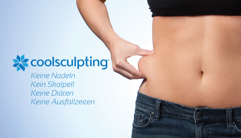 Coolsculpting in der OmniMed Ordination für Ästhetik in Linz, Eisenstadt & Klagenfurt