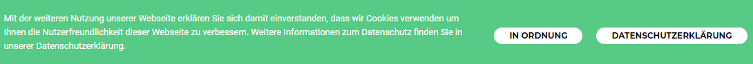Cookie-Notice bei AdSimple®