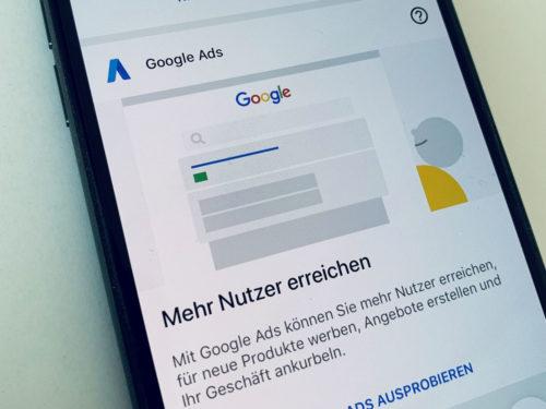 Google Ads Express Kampagne von AdSimple