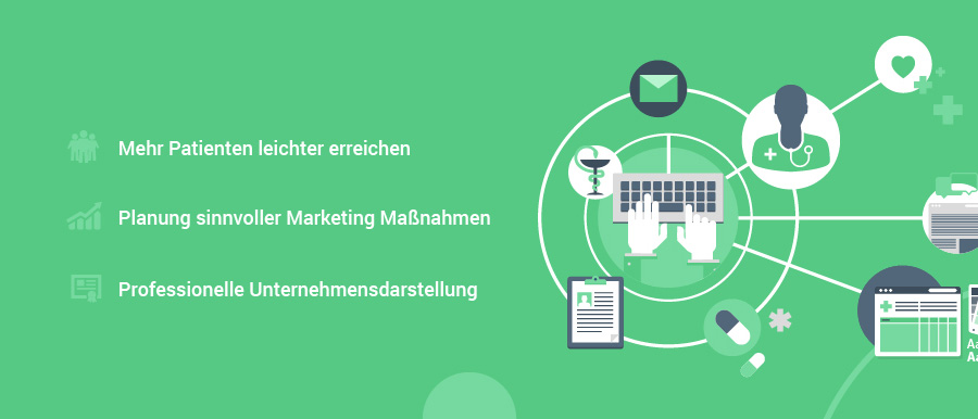 Webdesign & Online Marketing für Ärzte