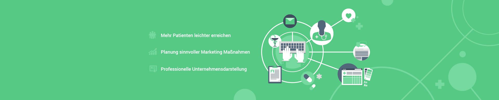 Webdesign & Online Marketing für Ärzte