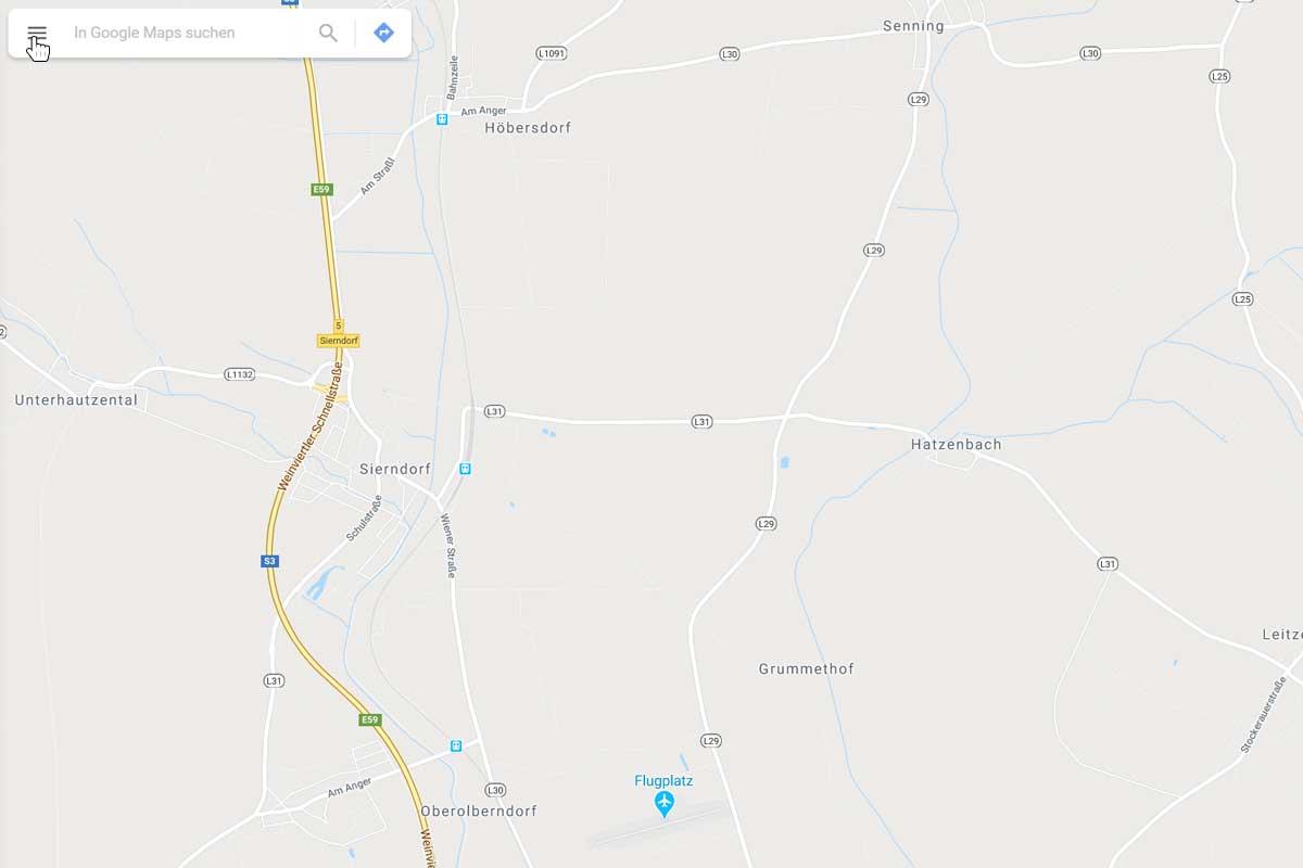Eigene Google Bewertung löschen - Google Maps öffnen