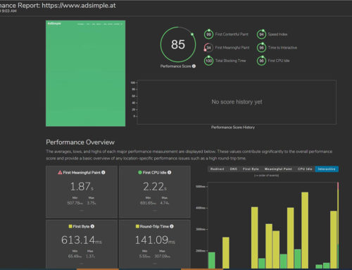 Kostenlos Websitegeschwindigkeit testen: fastorslow.com