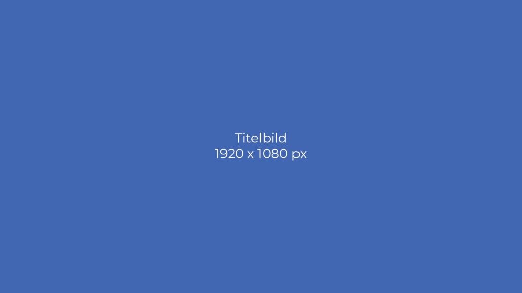 Bildgröße für Google My Business Titelbild