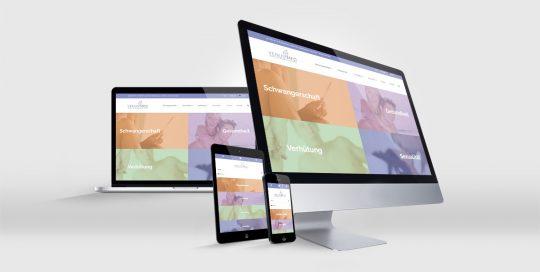 VenusMed-Website Referenz