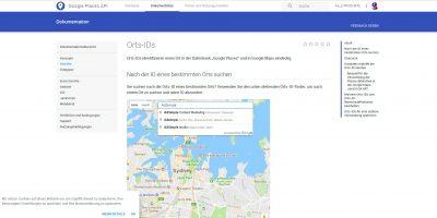 Google My Business Place ID herausfinden